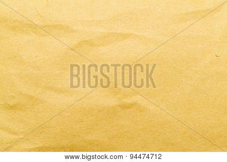 Wrinkle brown bag texture