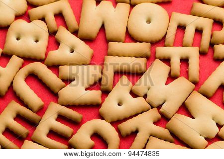 Mixed cookie word