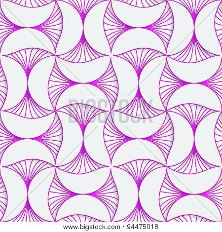 3D Purple Striped Pin Will