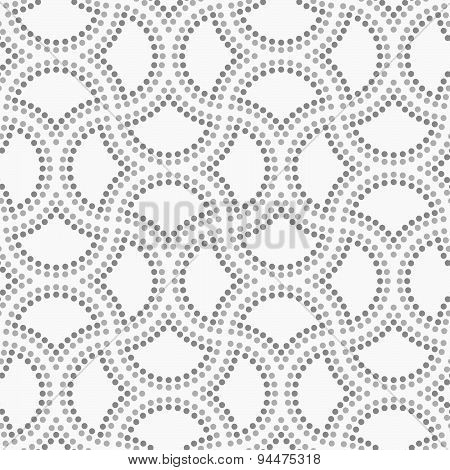 Dotted Cut Double Circle Pin Will