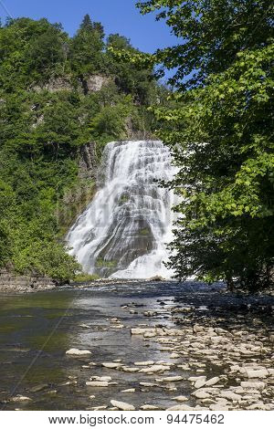 Waterfall in Ithaca, New York