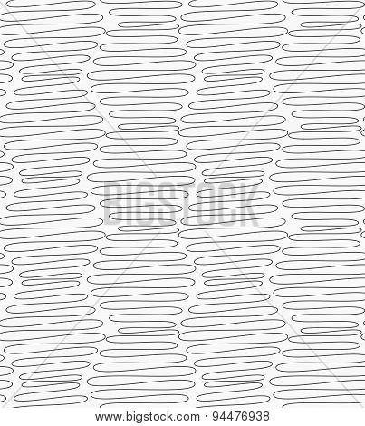 Slim Gray Vertical Scribbled Hexagons