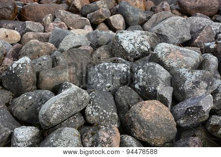 Pebble Stone. Picture Can Be Used As A Background