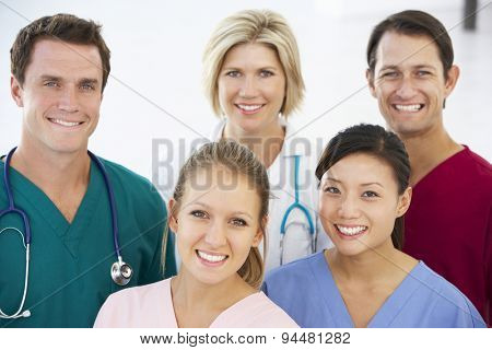 Portrait Of Medical Team