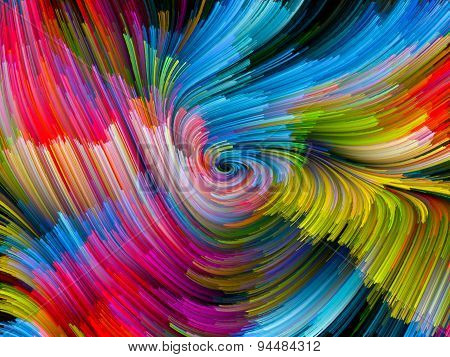 Color Vortex Backdrop