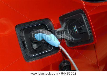 electric car loading