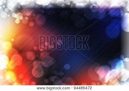 abstract background decorative graphic template with beautiful glitter twinkling bokeh