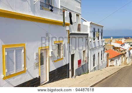Architectural detail in Lagos, Portugal, Europe