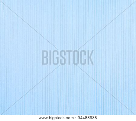 Fabric Texture Blue Background