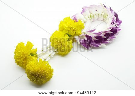 Thai traditional floral garland