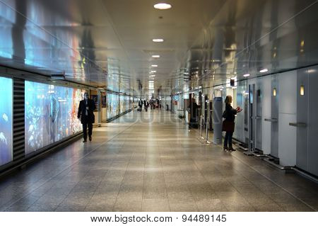 Underpass Frankfurt Airport