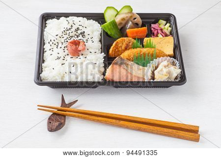 Bento Japanese launch box