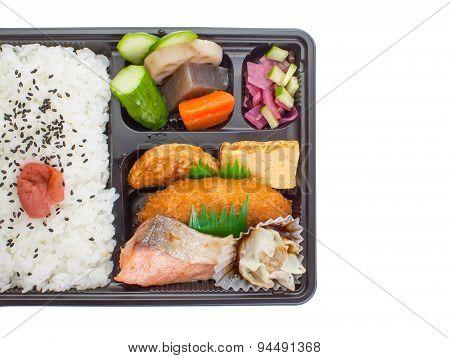 Bento Japanese launch box
