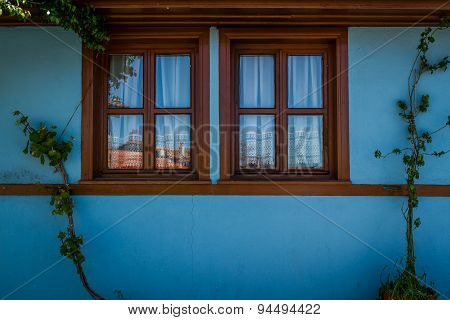 Blue Traditional Turkish House