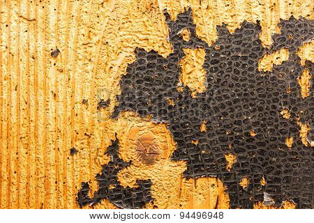 Closeup Of Old Wood