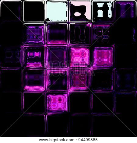 Glass tiles background