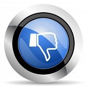 foto of dislike  - dislike icon thumb down sign original modern design for web and mobile app on white background  - JPG