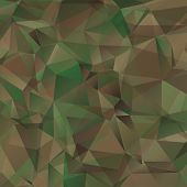 pic of camouflage  - Abstract  Military Camouflage Background Made of Geometric Triangles Shapes - JPG