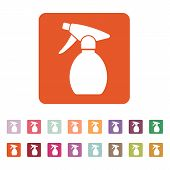 picture of atomizer  - The sprayer icon - JPG
