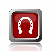 picture of horseshoe  - Horseshoe icon - JPG