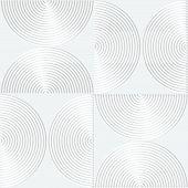 pic of semi-circle  - Paper white 3D geometric background - JPG