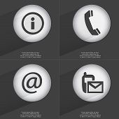 image of sms  - Information Receiver Mail SMS icon sign - JPG