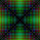 pic of pixel  - Abstract greenish pixellated pattern with distinctive saltire element - JPG