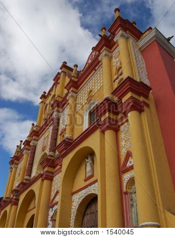 Cathedral In Chiapas, Mexico