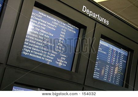 Departures Screen