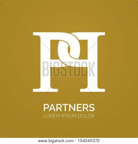creative double p letter vector vector & photo | bigstock