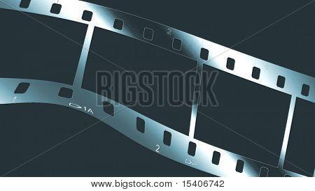Chrome Metallic Filmstrip