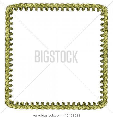 Vector Gold Border Frame