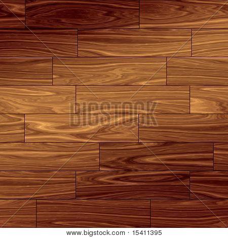 Wood Parquet Floor, Tile Seamlessly