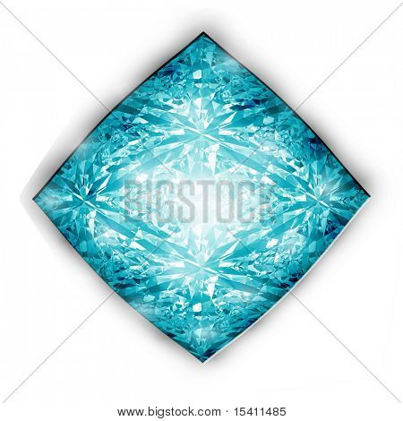 Sparkling Blue Diamond