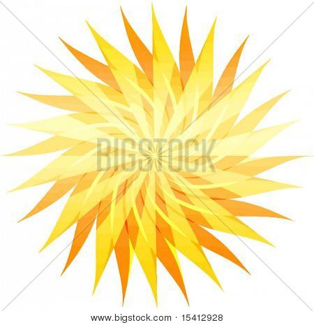 Vector Sunburst