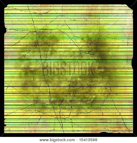 Large Bright Striped Grunge