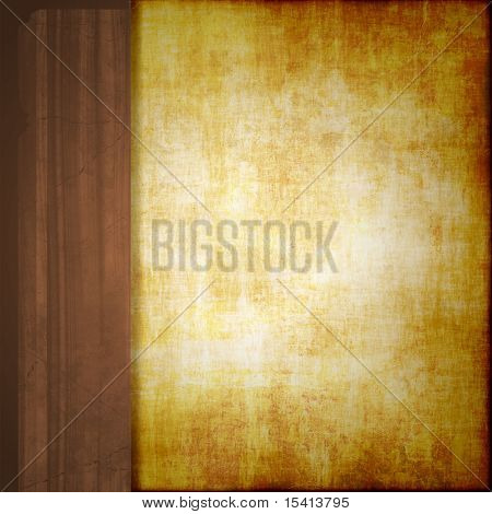 Wood Trim Old Paper, See Vector Also In My Portfolio