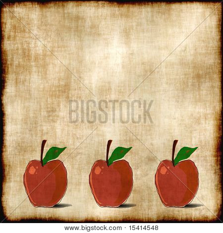 Red Apples Tapestry