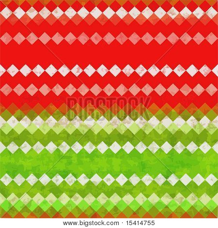 Vector Seamless Christmas Grunge Background