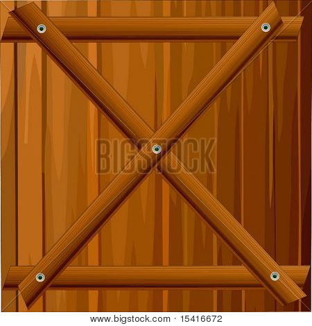 Vector Wood Fence