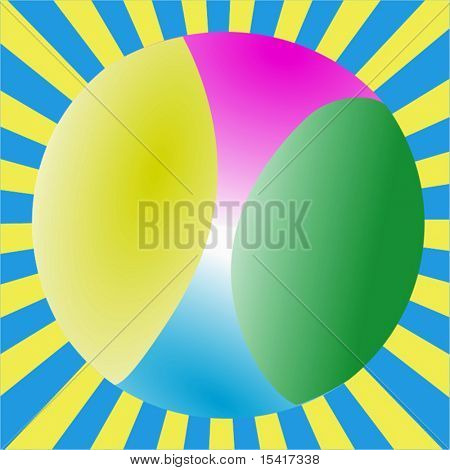 Vector Beach Ball