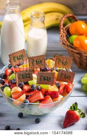 Healthy Salad Made of Fruits With No Preservatives