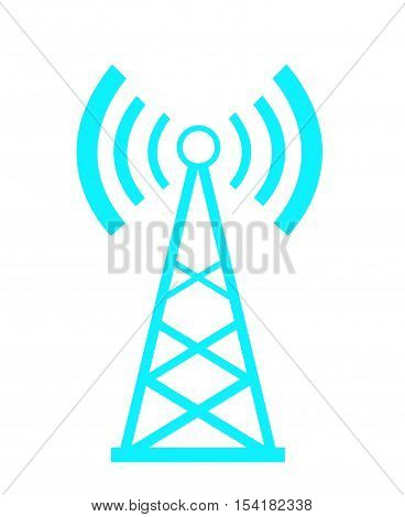Transmitter icon vector illustration on white background