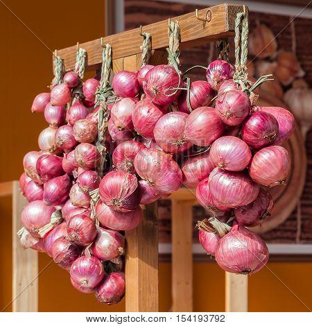 Red Onion Braids