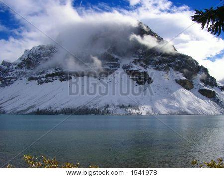 Crowfoot Mountain After An Autumn Storm, Banff National Park, Canada