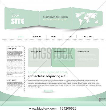 web design template easy editable