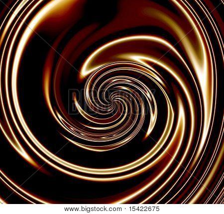 Dark Chocolate Swirls