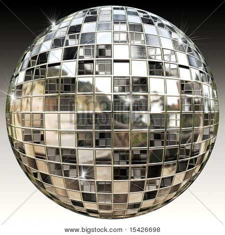 Sparkling Disco Party Mirror Ball