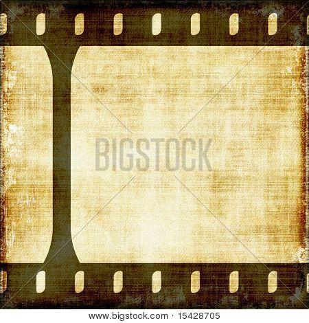 Old Vintage Film Strip Background