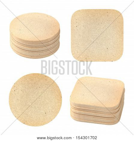 Set Of Vintage Coasters